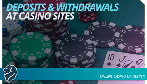 Deposits and Withdrawals at Casino Sites not on GamStop