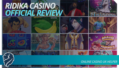 Ridika Casino Official Review